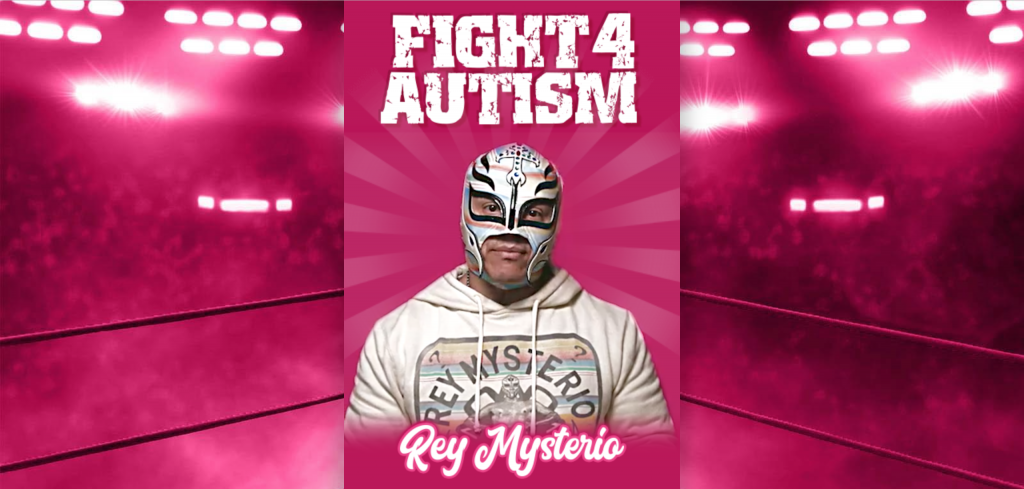 rey mysterio fight for autism