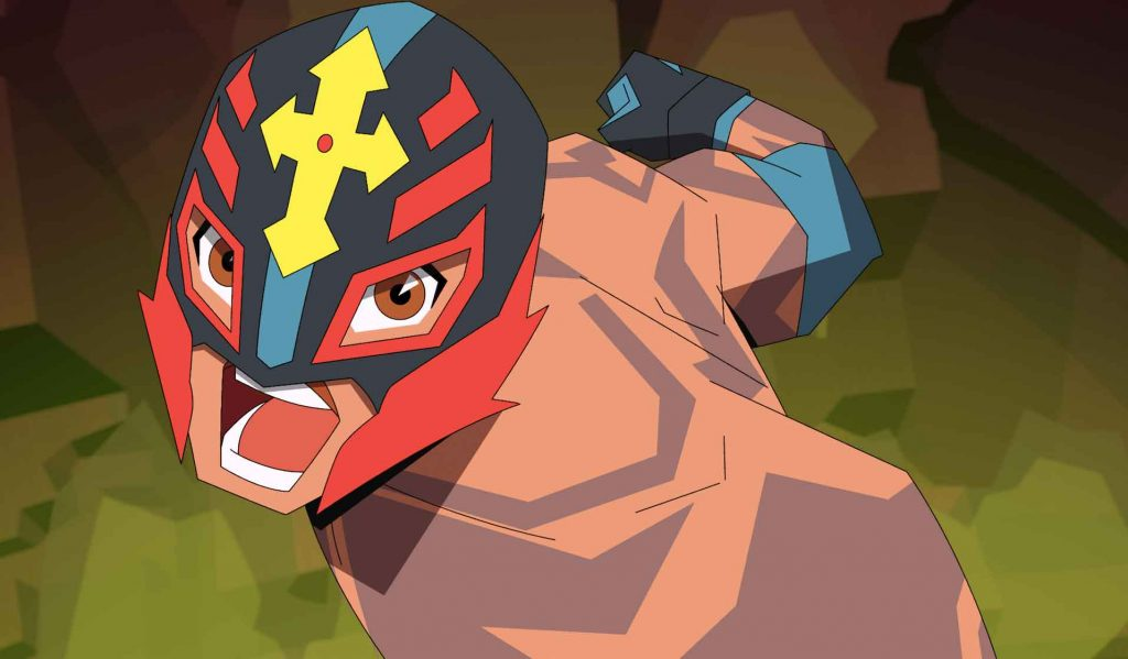 Rey Mysterio, la serie animada